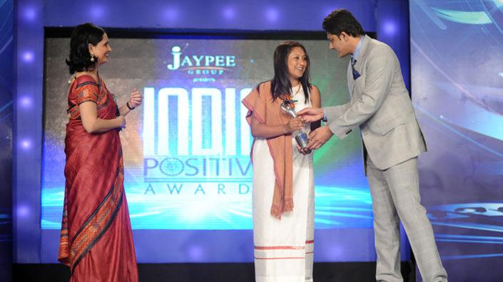 Hasina Kharbhih - CNN-IBN India Positive Awards 2012