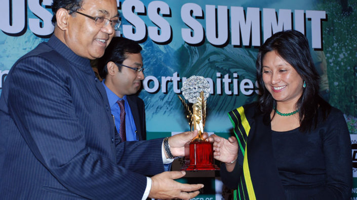 Hasina Kharbhih ICC North East Excellence Award 2012