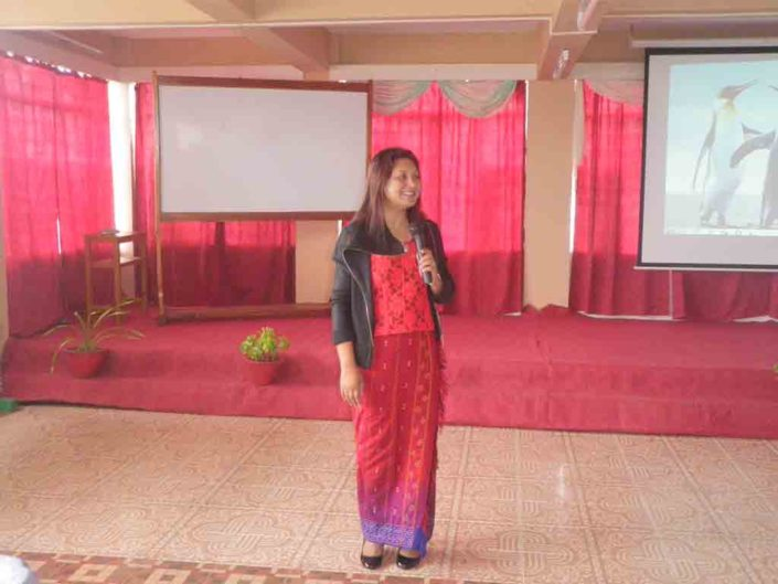 08/03/16 Shillong: International Women Day, at PG College