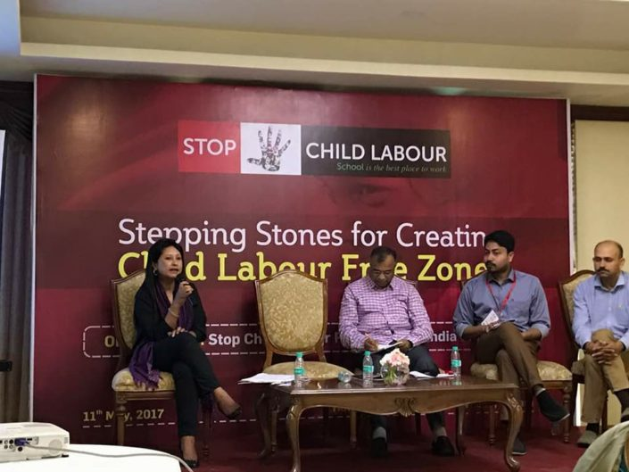 11/05/17 Guwahati: Stepping Stones for Creating Child Labour Free Zones
