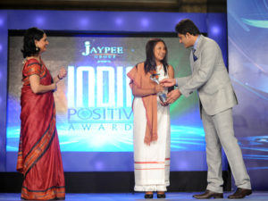 CNN IBN India Positive Awards Oct - 2012