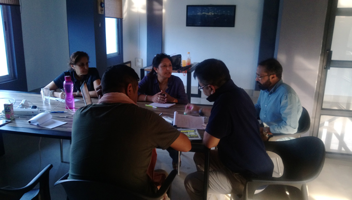 26/08/2017, Guwahati: Speaking at a Pre-Meeting for the Impulse Model Press Lab, organized at Guwahati