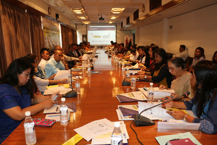 08/09/2017, New Delhi: Speaking at a Consultation on Impulse Case Info Centre Software, Building Linkages with SPUNER, AHTU, and other Stakeholders