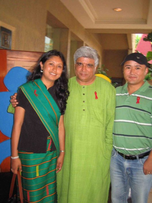 07/06/06 Mumbai: With noted Poet, Lyricist and Screenwriter - Javed Akhtar