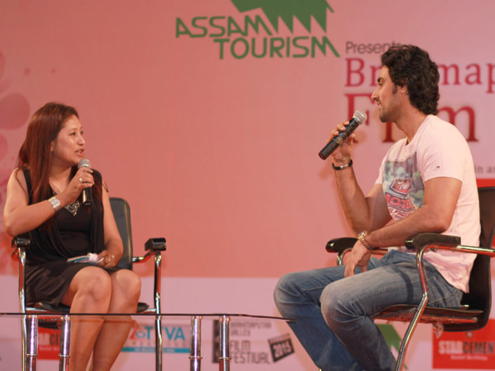 29/04/15 Guwahati: Brahmaputra Valley Film Festival, Conversation with Kunal Kapoor