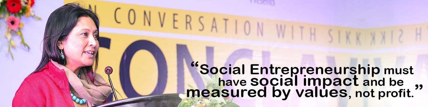 Hasina Kharbhih on the nature of social entrepreneurship