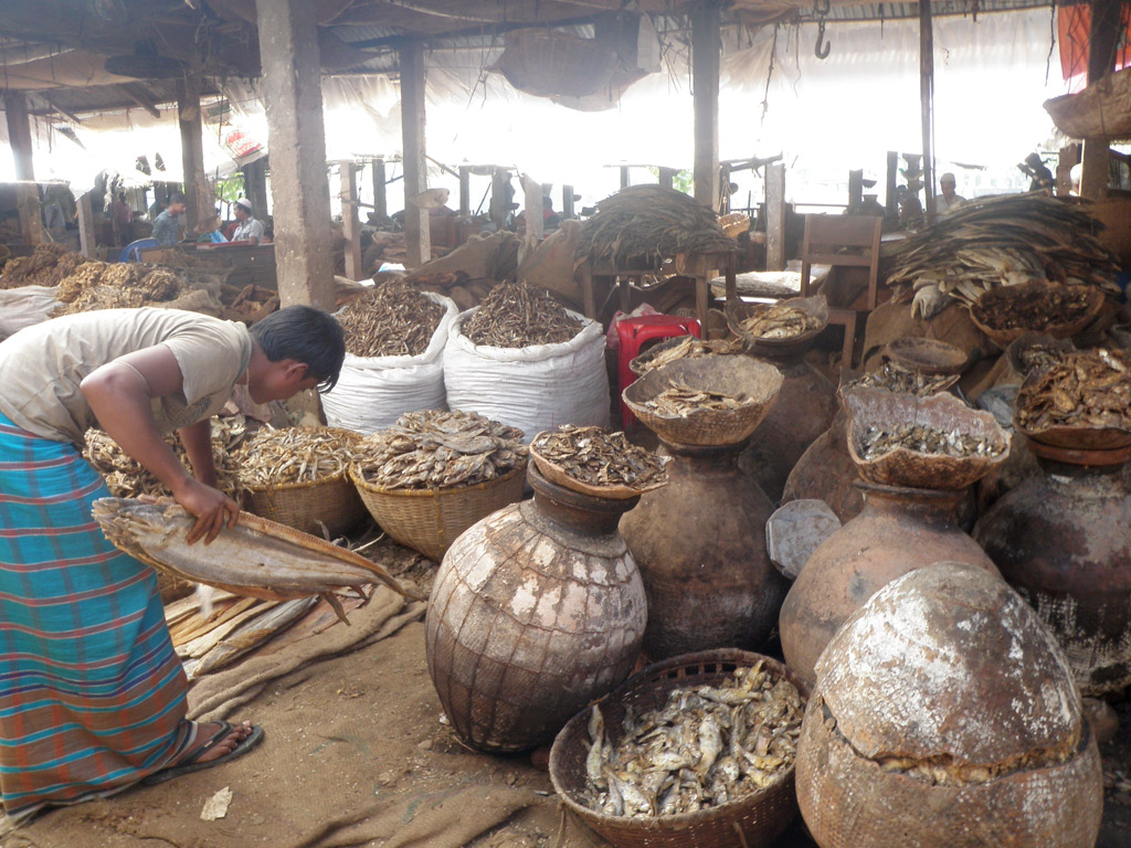 The Dry Fish Economy – Hasina Kharbhih